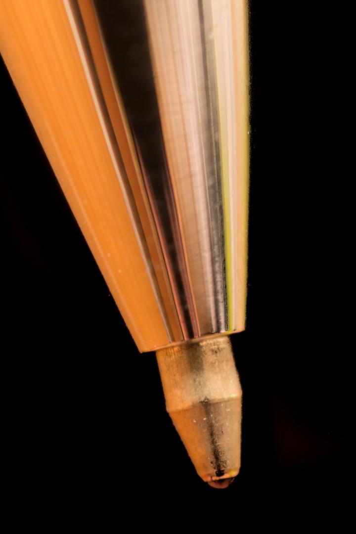 Banaler Kugelschreiber