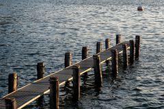 Banchina sul lago
