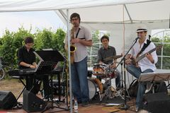 Band Esperanto Jazz Ensemble im Weinberg
