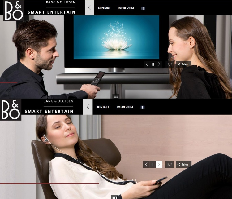 Bang & Olufsen Commercial