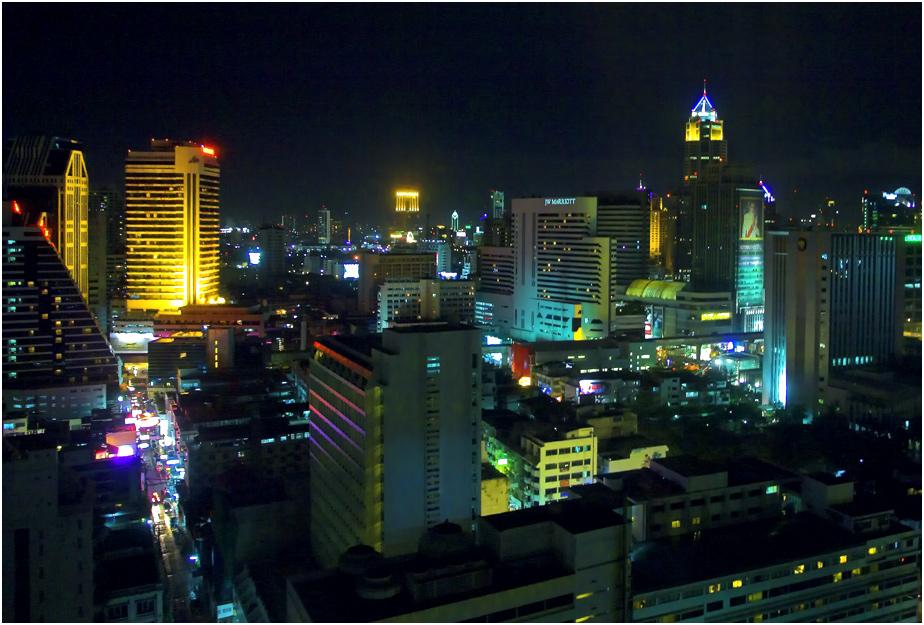 Bangkok - City bei Nacht