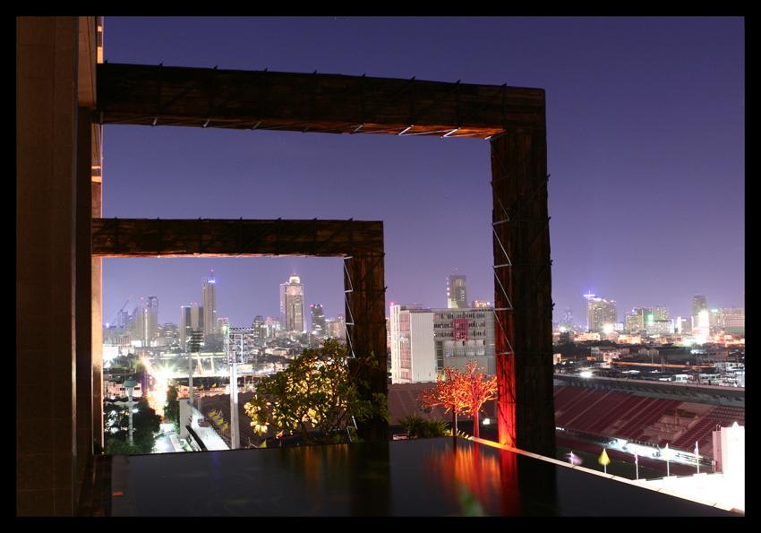 Bangkok, Hotel siam@siam - Pool auf der 11. Etage