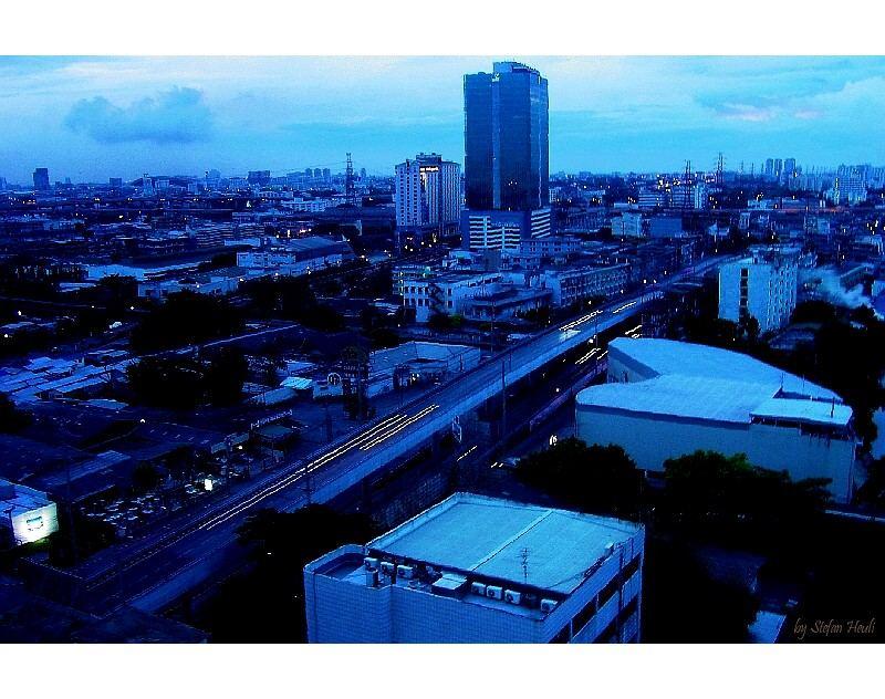 Bangkok im Morgenlicht