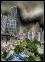 Bangkok - Mac`s balcony view