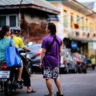 Bangkok, scène de rue.