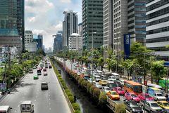 BANGKOK -- SOUTH SATORN ROAD