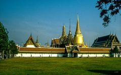Bangkoks goldene Seite