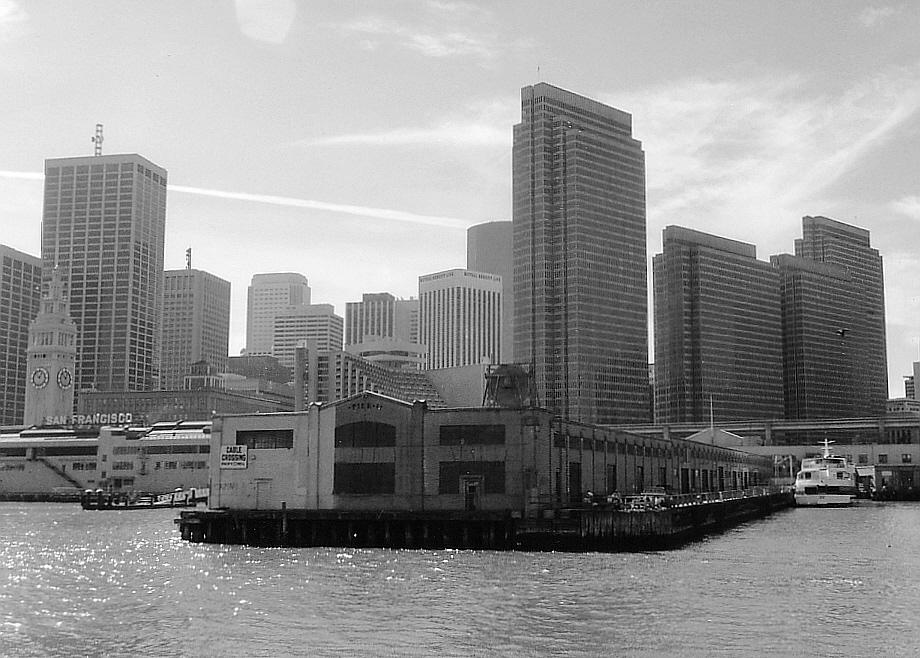 Bankenviertel von San Francisco 1990 und davor....
