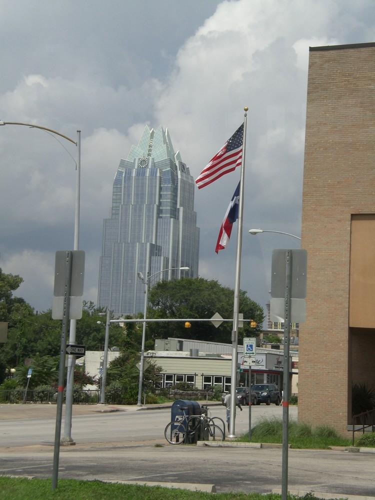 Bankgebäude in Austin