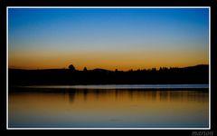 Bannwaldsee spät am abend