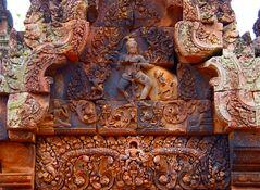 bantea srey, detail, cambodia 2010 III