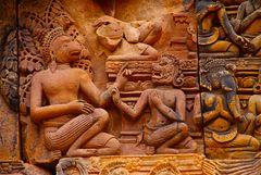 bantea srey, detail, cambodia 2010 V