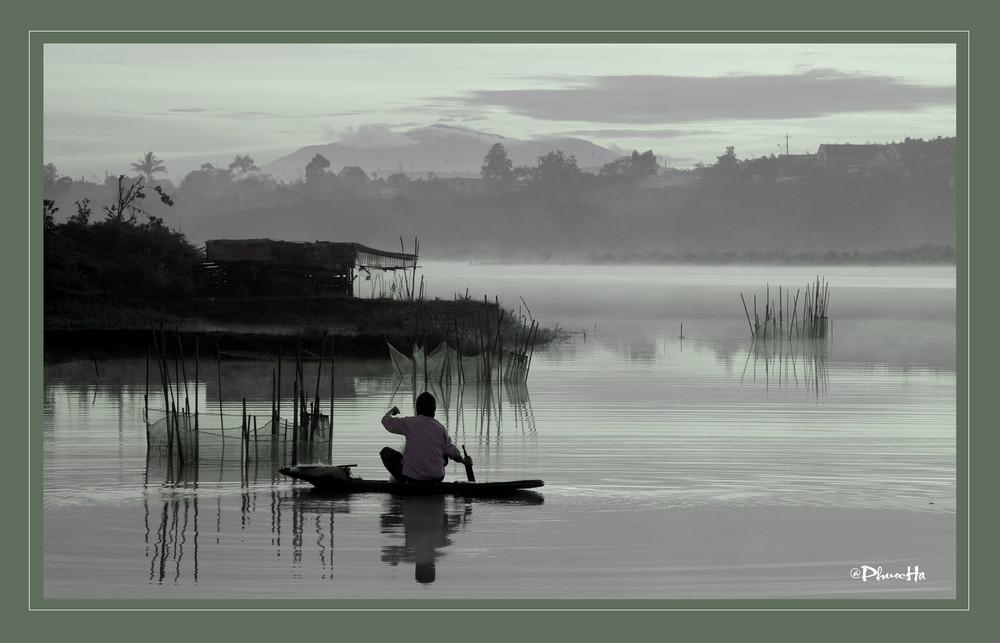 Bao Lam lake