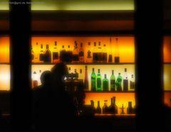 Bar am Abend