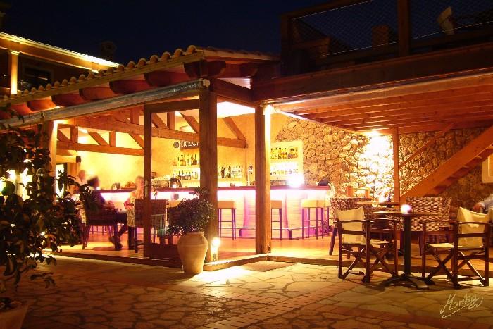 Bar at night!