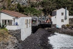 Bar Esplanada Caloura direkt am Meer - Frischer Fisch garantiert