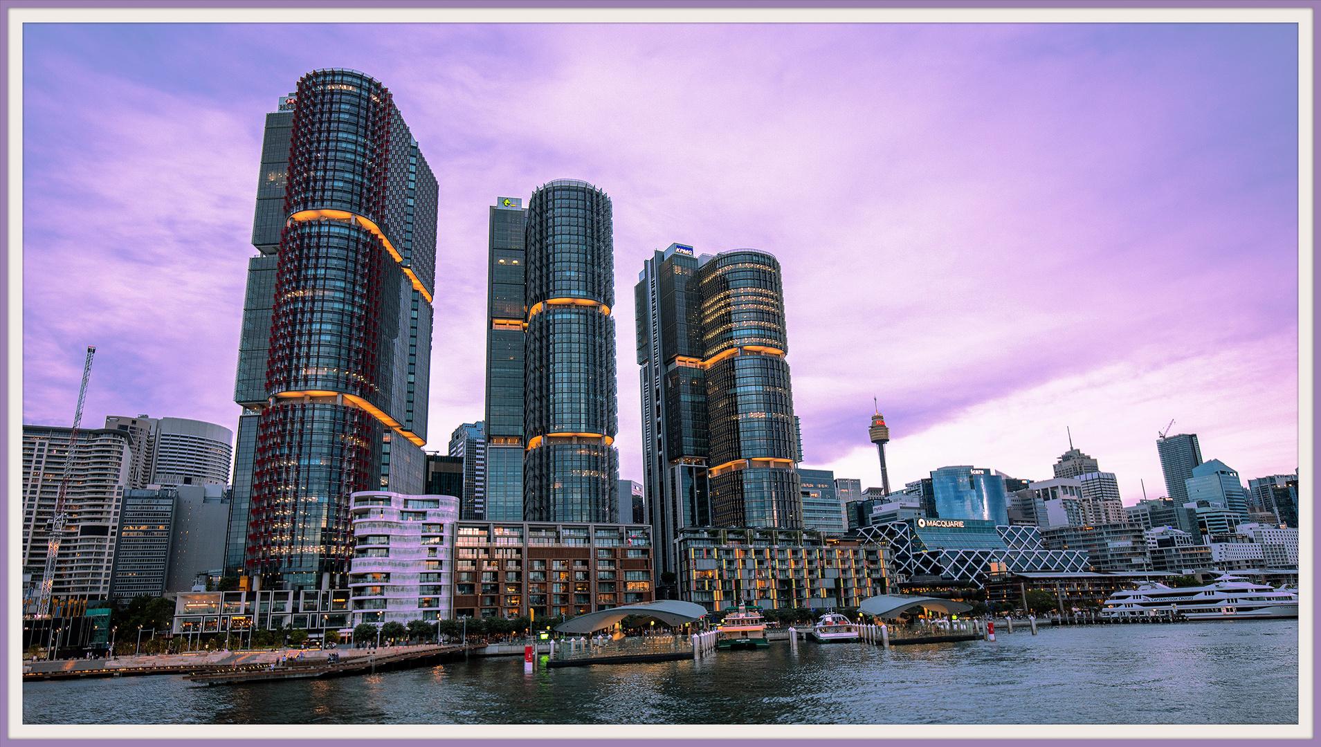 Barangaroo Towers and Wharf, Darling Harbour