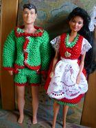 Barbie und Ken zum Oktoberfest