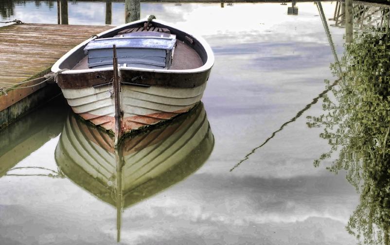 Barca en Calma
