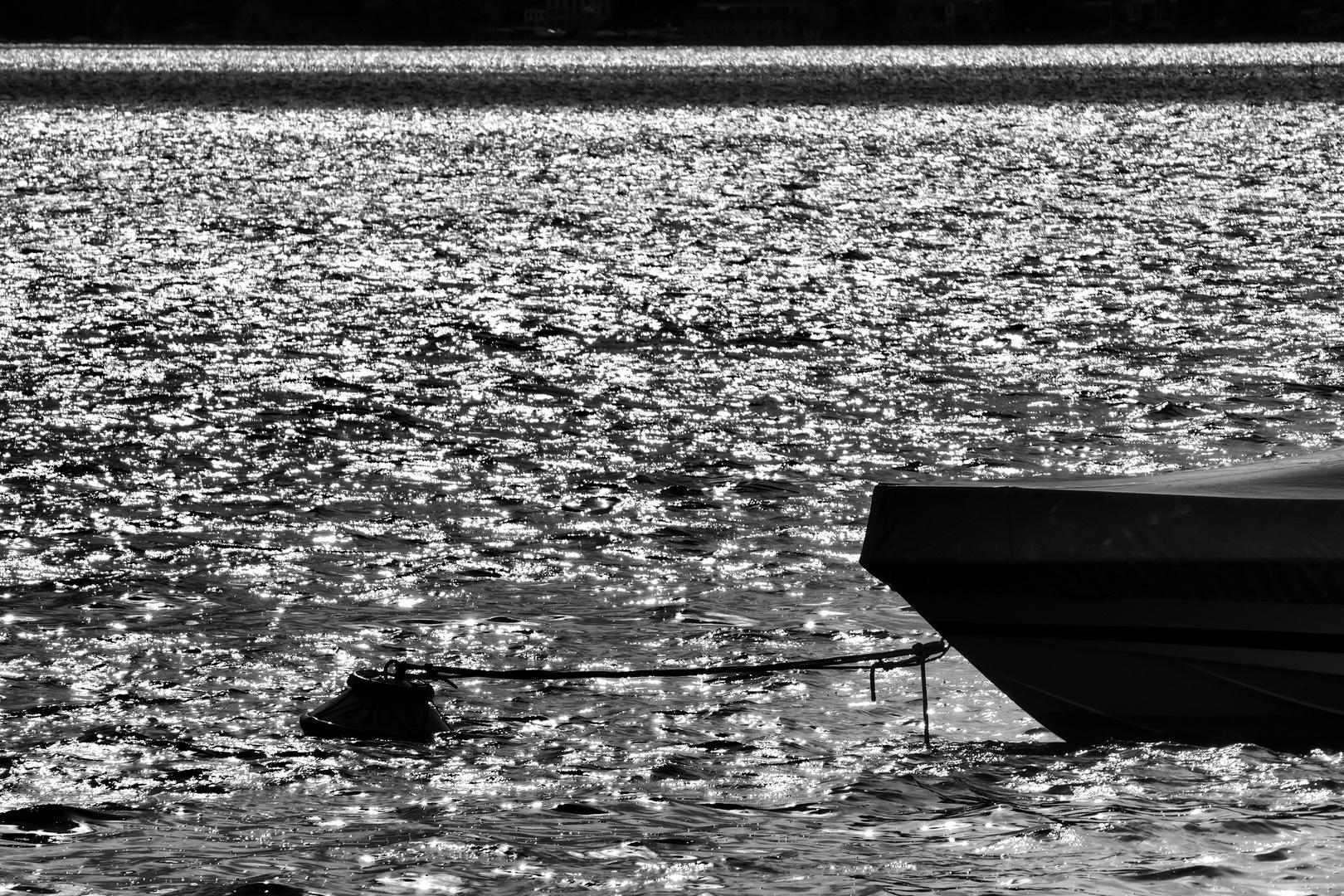 Barca in rada