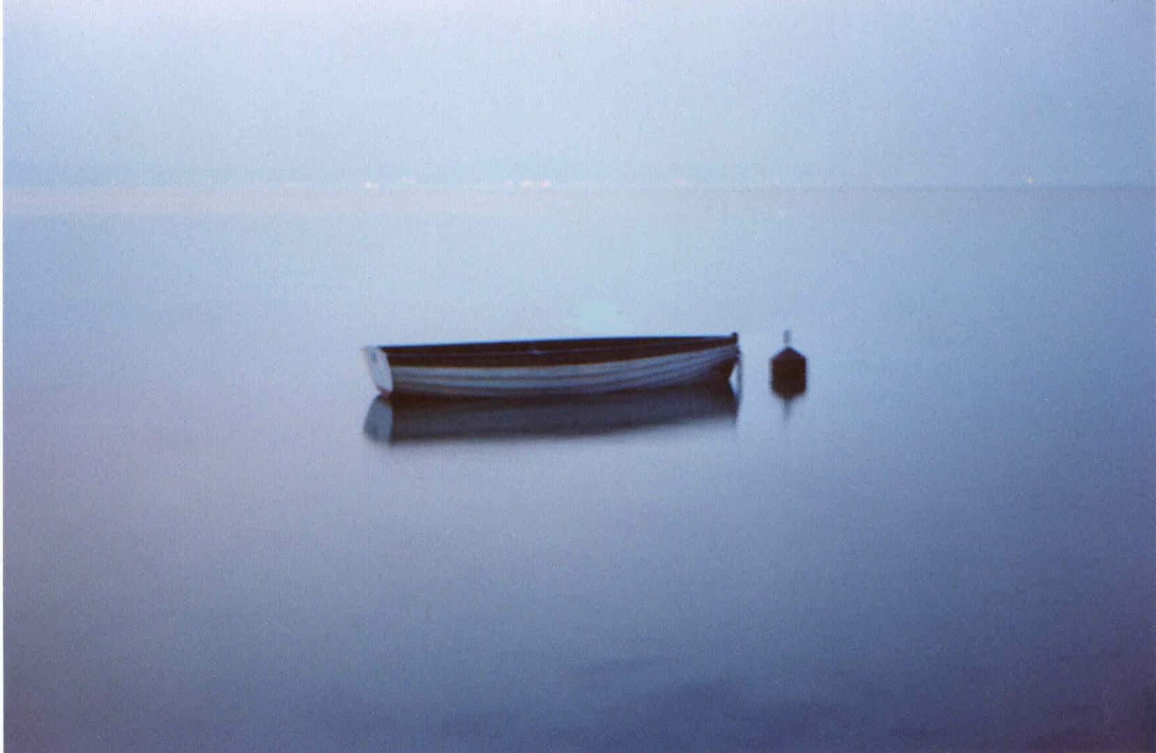 ...barca nella nebbia...
