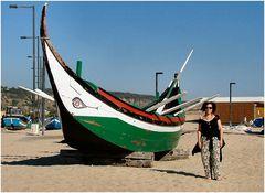 Barca tipica di pesca artigianale.