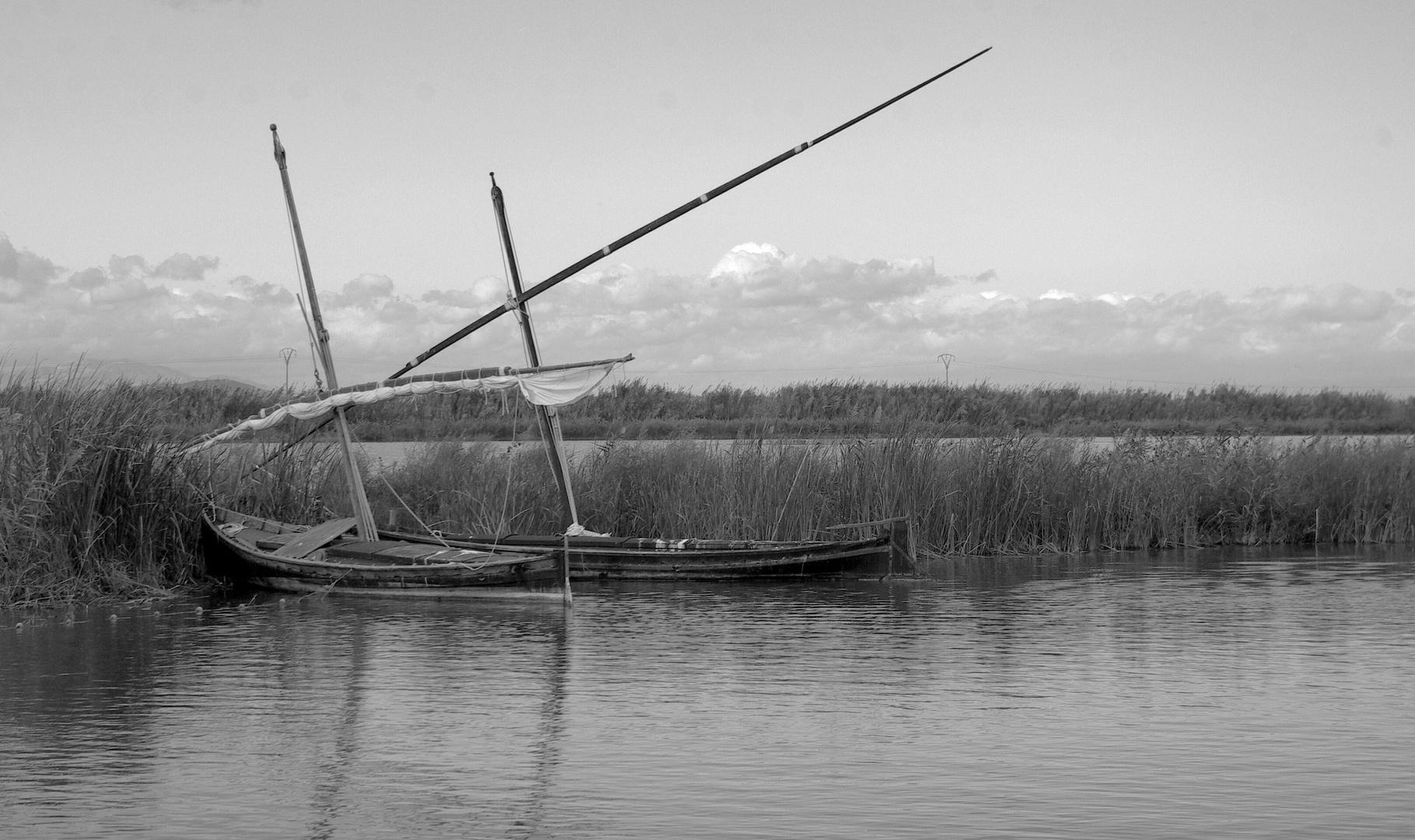 Barcas de l,Albufera