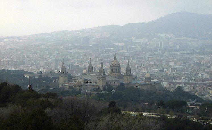 Barcelona am Morgen 2