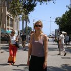 Barcelona Beach promenade