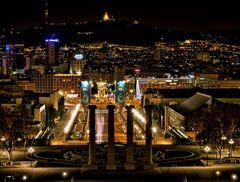Barcelona bei Nacht 1