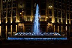 Barcelona bei Nacht (aufgehellt)