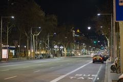 Barcelona bei Nacht (III)