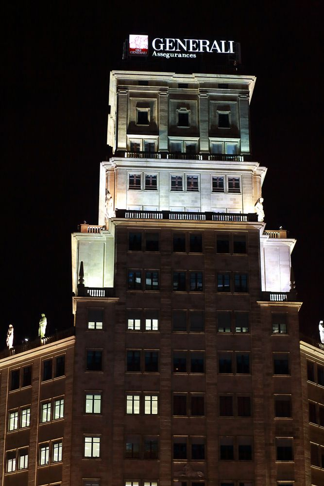 Barcelona bei Nacht (IV)