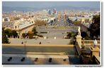 Barcelona, Blick vom Palau Nacional (Vistas del Palau Nacional)