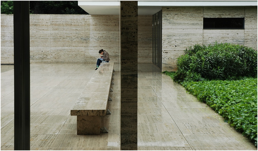 Barcelona - Deutscher Pavillon Mies van der Rohe II
