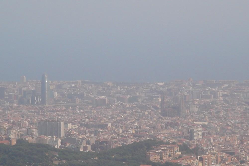BARCELONA DIFUMINADA Imagen Foto Ciudades Motivos Fotos De
