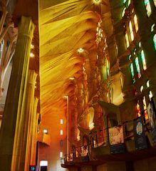 Barcelona, Fenster der Sagrada Familia