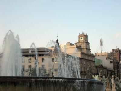 barcelona fountain