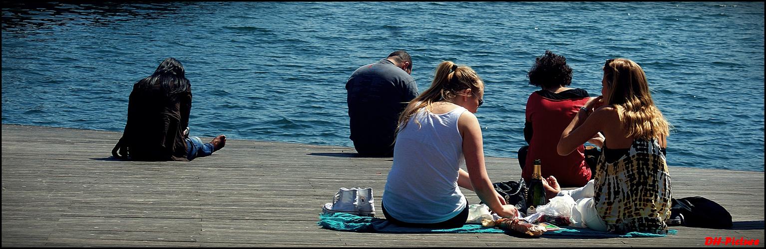 Barcelona Hafen