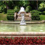 Barcelona - Im Garten des Palau Reial de Pedralbes