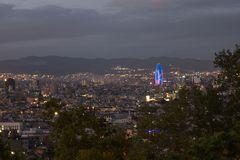 Barcelona Nacht