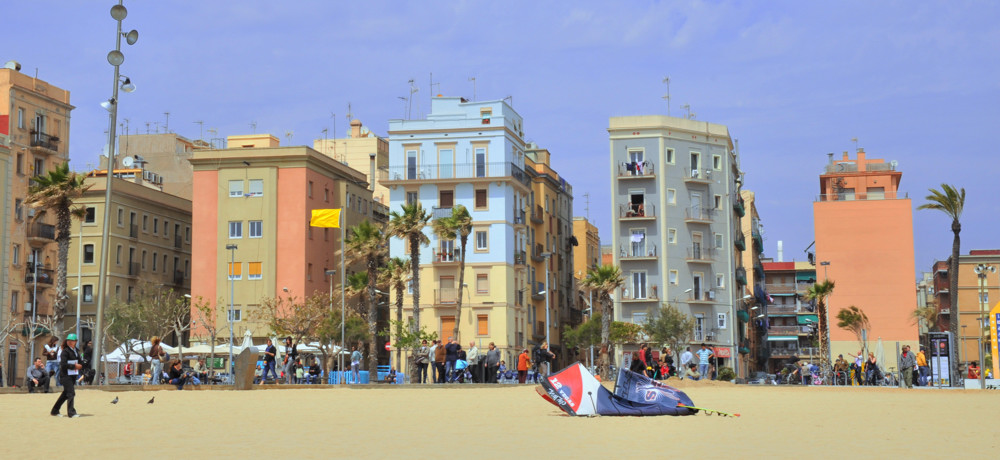 Barcelona, Strand