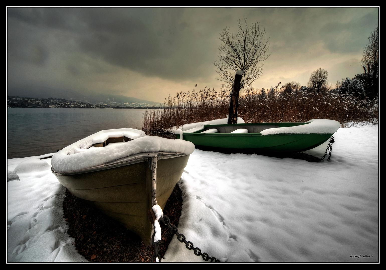 barche d'inverno