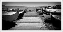 Barche in riposo