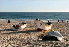 Barche sulla sabbia.