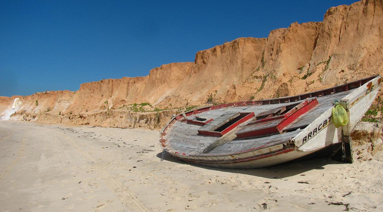 Barco ao léu - Ceará,Brazil