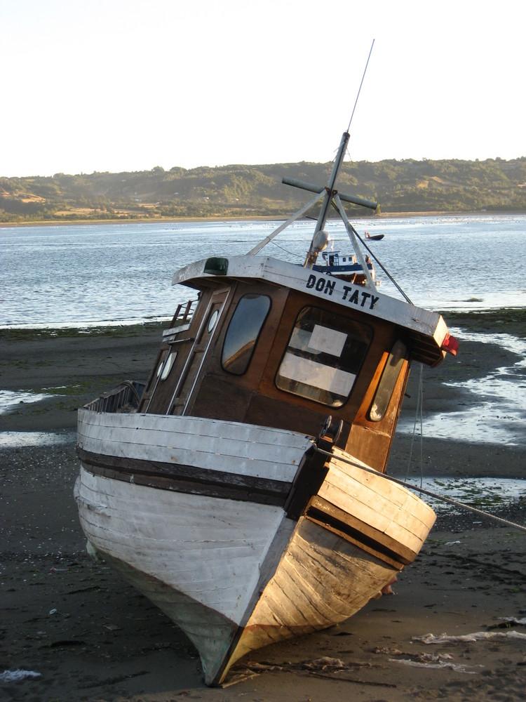 Barco en Chiloe