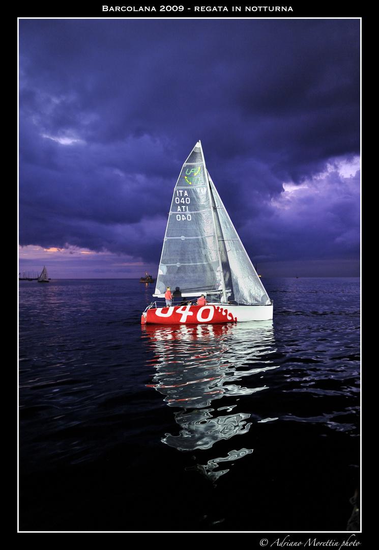 Barcolana 2009 - regata in notturna
