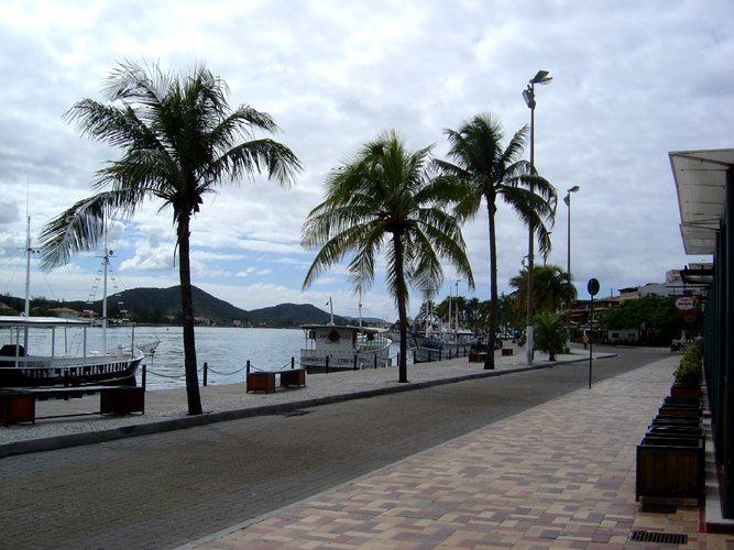 Barcos no Canal do Itajuru - Cabo Frio - RJ