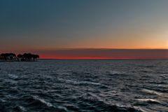 Bardolino(lago di Garda) ultime luci del giorno